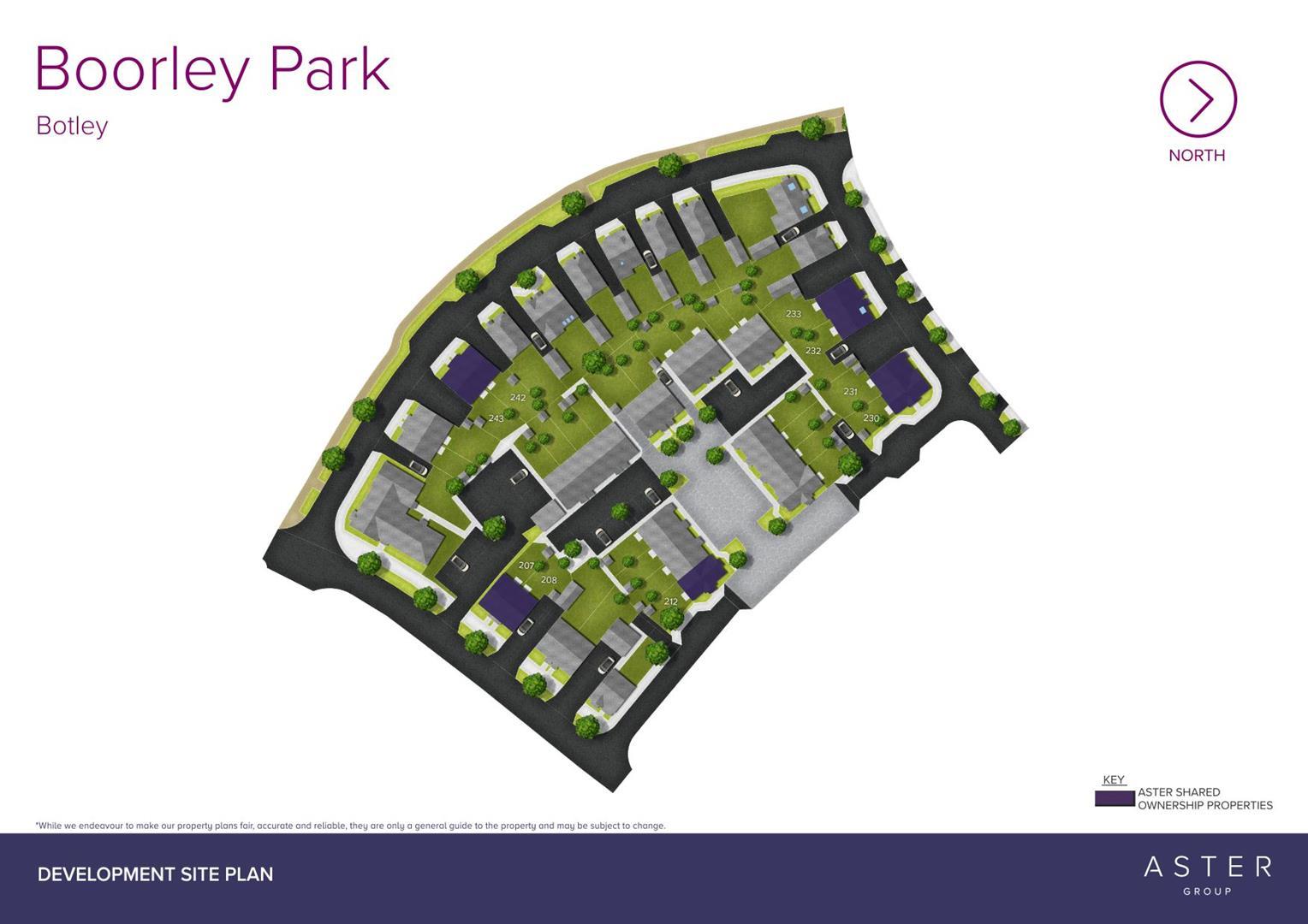 Boorley Park, Botley (Bloor) Sitemap_207 - 243_F-1
